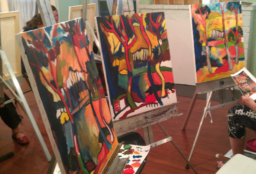 painting classes art league houston student updates